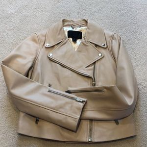 🎉 HP 🎉* J. Crew Collection Leather Moto Jacket 6